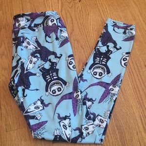 Lularoe Nightmare before Christmas leggings